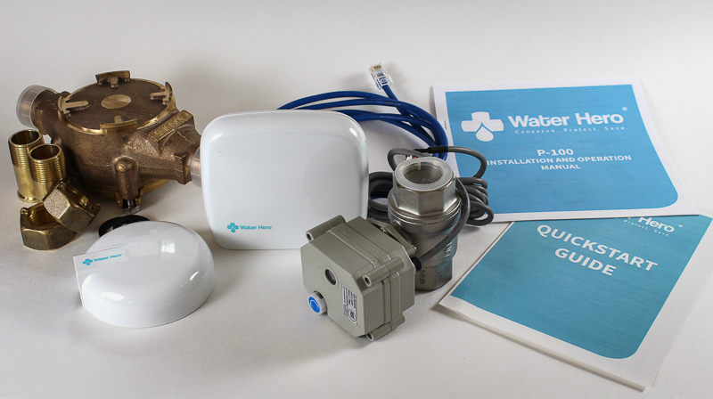 Water Hero P-100: Leak Detection & Automatic Water Shut Off System