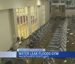Water Damage Gym