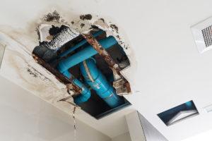 Condominiums HOA Water Leak